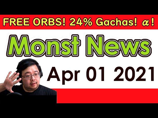 【動画】【Monster Strike】Monst News – April 1 2021【モンスト】